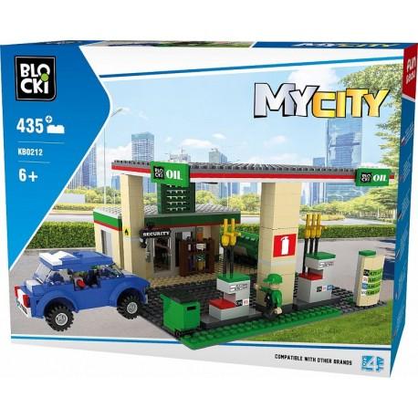Klocki blocki mycity 435 el stacja