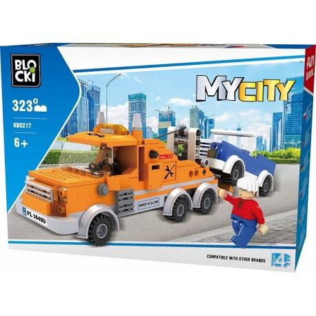 Klocki blocki MyCity pomoc drogowa 323 el