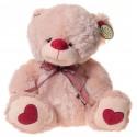 Miś 2 kolory Walentynka serca