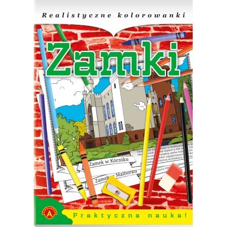 Realistyczne kolorowanki - Zamki polskie