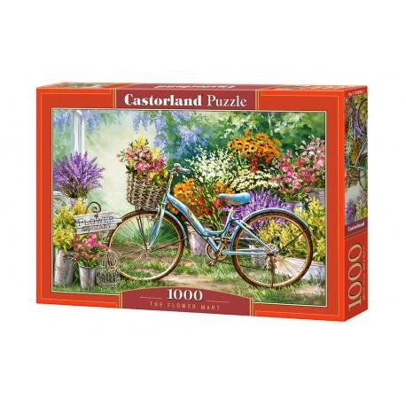 Puzzle 1000 el. Flower Mart - Targowisko kwiatów