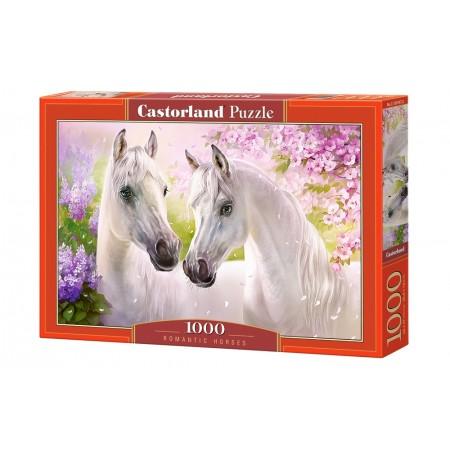 Puzzle 1000 el. Romantic Horses - Romantyczne konie