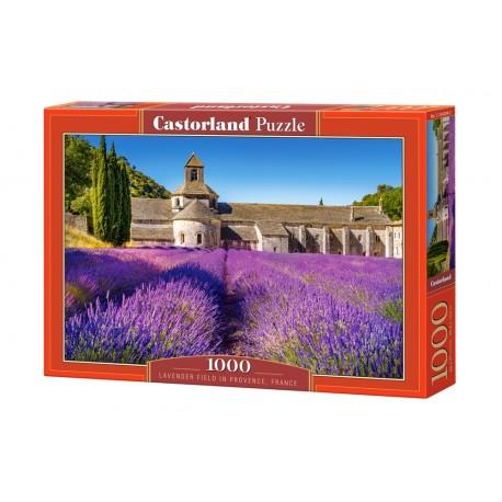 Puzzle 1000 el. Lavender Field in Provence - Pole lawendowe w Prowancji