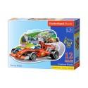 Puzzle 12 el. MAXI Racing Bolide - Wyścigówka