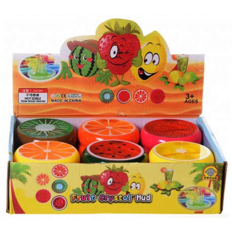 Gluty owoce slime