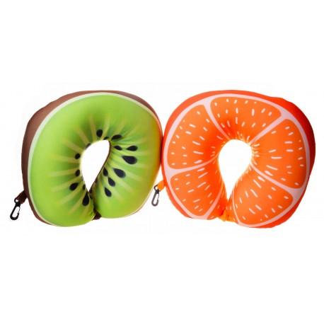 Poduszka zagłówek owoce