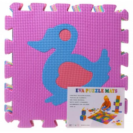 Puzzle piankowe EVA zwierzęta
