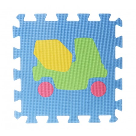 Puzzle piankowe EVA pojazdy