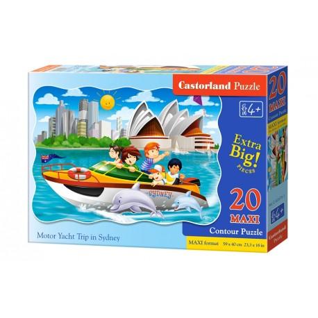Puzzle 20 el. MAXI Motor Yacht Trip in Sydney