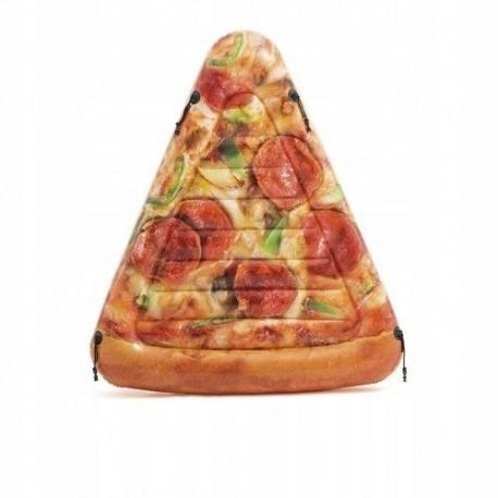 Materac dmuchany pizza z łączeniami 58752
