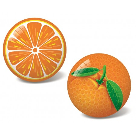 Piłka gumowa Pomarańcza