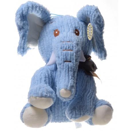 Maskotka słoń pleciony duży