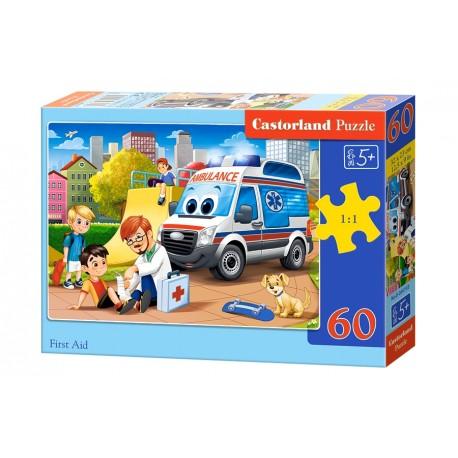 Puzzle 60 el. First Aid - Pierwsza Pomoc