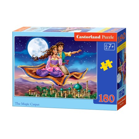 Puzzle 180 el. The Magic Carpet - Magiczny dywan