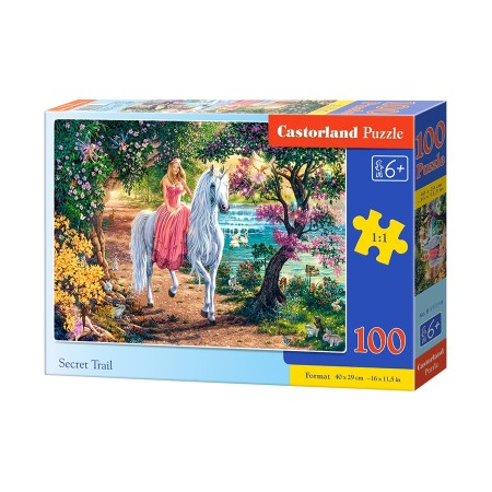 Puzzle 100 el. Secret Trial - Tajemnicza podróż