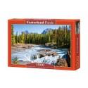 Puzzle 1500 el. Athabasca River, Jasper National Park, Canada