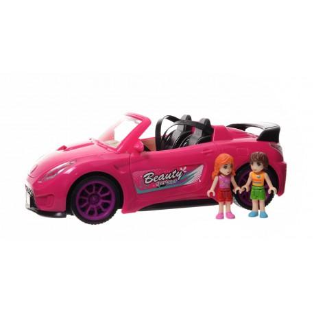 Samochód z lalkami