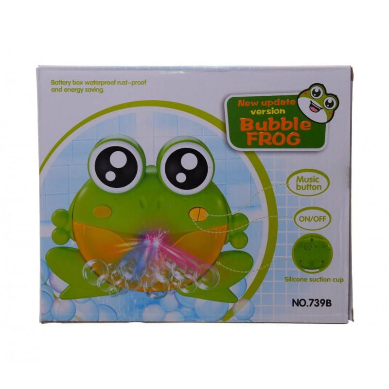 Żabka na bańki do kąpieli