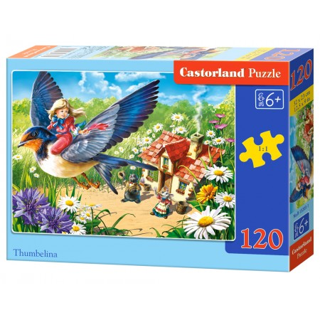 Puzzle 120 el. Thumbelina - Calineczka