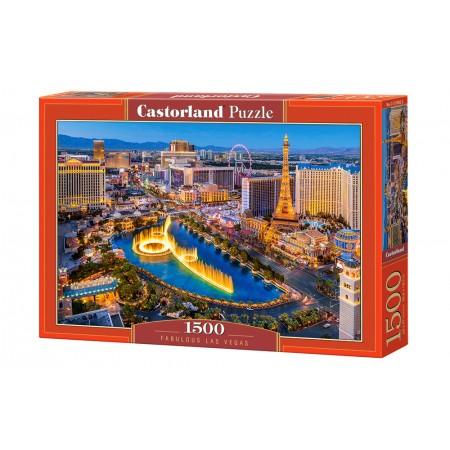 Puzzle 1500 el. Fabulous Las Vegas - Legendarne Las Vegas
