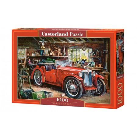 Puzzle 1000 el. Vintage Garage - Garaż w stylu vintage