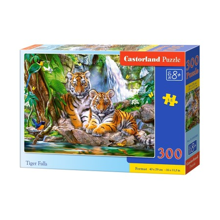 Puzzle 300 el. Tiger Falls - Tygrysi spad