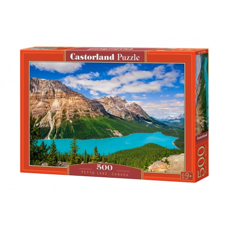 Puzzle 500 el. Peyto Lake, Canada - Jezioro Peyto Kanada