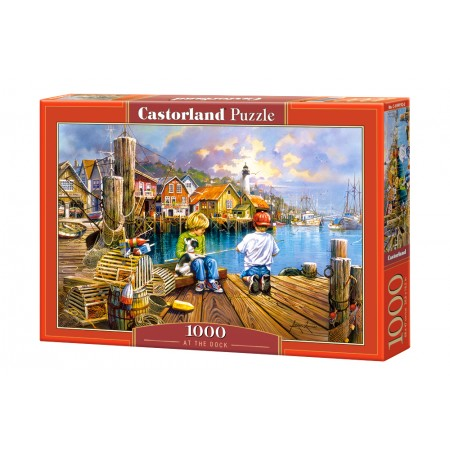 Puzzle 1000 el. At the Dock - Na pomoście