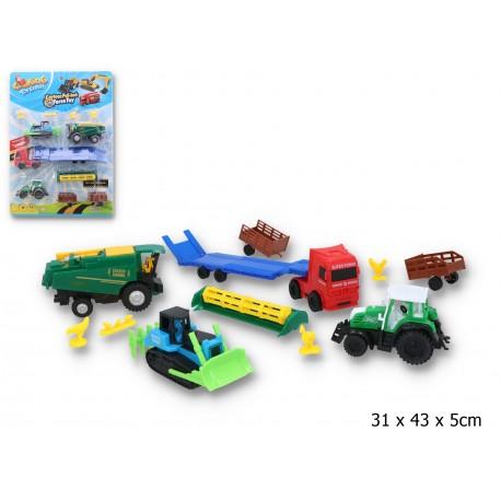 Zestaw pojazdów rolniczych