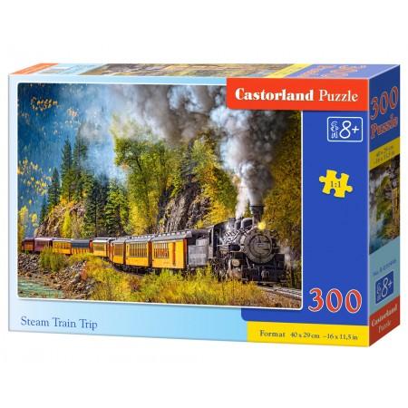 Puzzle 300 el. Stream Train Trip - Pędzący pociąg