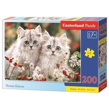 Puzzle 200 el. Persian Kittens - Perskie kociaki