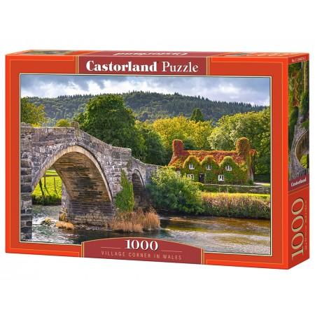 Puzzle 1000 el. Village Corner in Wales - Zakątek wioski