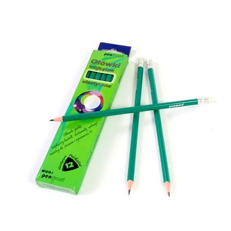 Ołówek plastikowy Flexi HB 12 sztuk