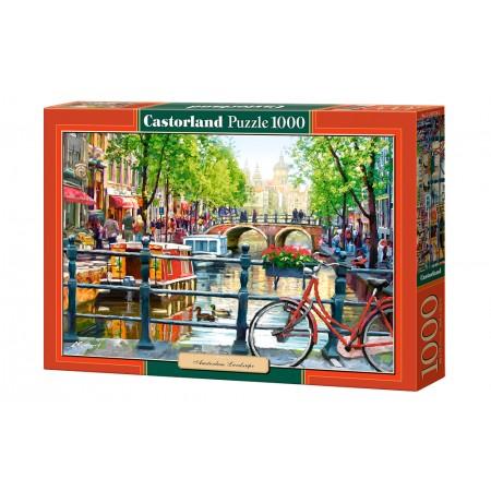 Puzzle 1000 el. Amsterdsam Landscape - Widok na Amsterdam