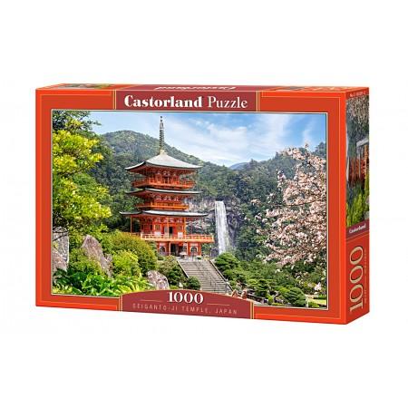 Puzzle 1000 el. Seiganto-ji Temple, Japan - Świątynia Buddyjska, Japonia