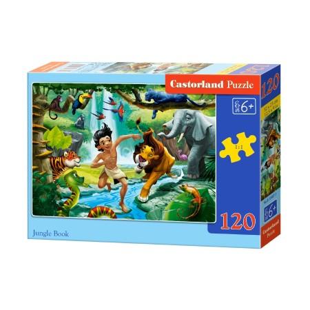 Puzzle 120 el. Jungle book - Księga dżungli