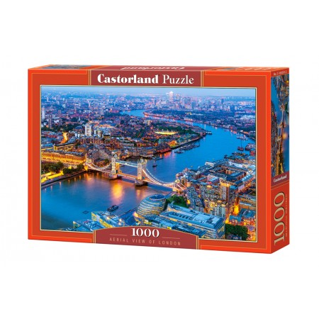 Puzzle 1000 el. Aerial View of London - Wodok z lotu ptaka na Londyn