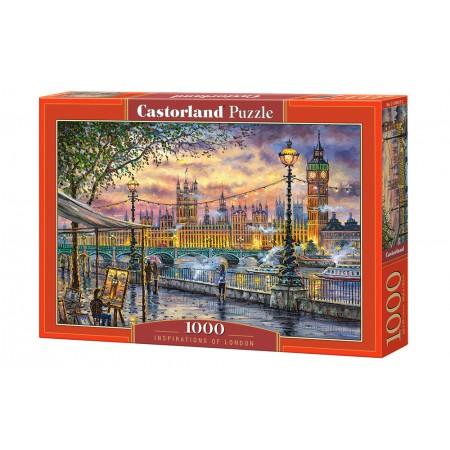 Puzzle 1000 el. Inspirations of London - Inspiracja Londynem
