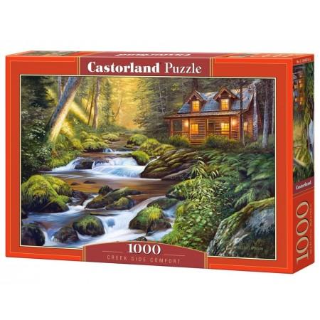 Puzzle 1000 el. Creek Side Comfort - Zatoczka komfortu