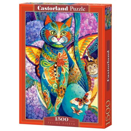 Puzzle 1500 el. Feline Fiesta - Kocie przyjęcie