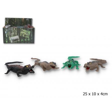 Jaszczur z grochem