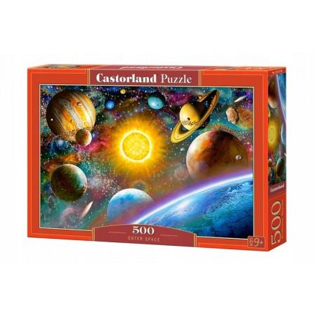 Puzzle 500 el. Outer Space - Układ słoneczny