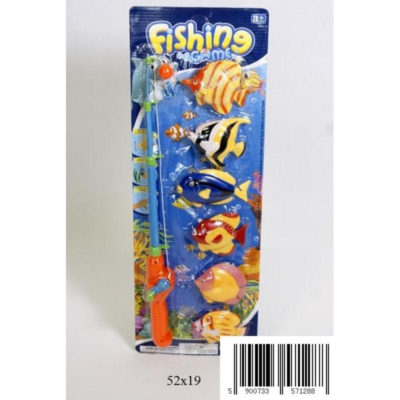 Wędka z rybkami