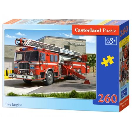 Puzzle 260 el. Fire Engine - Straż Pożarna