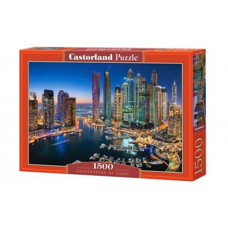 Puzzle 1500 el. Skyscrapers of Dubai - Drapacze chmur w Dubaju