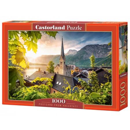 Puzzle 1000 el. Postcard from Hallstatt - Pocztówka z Hallstatt