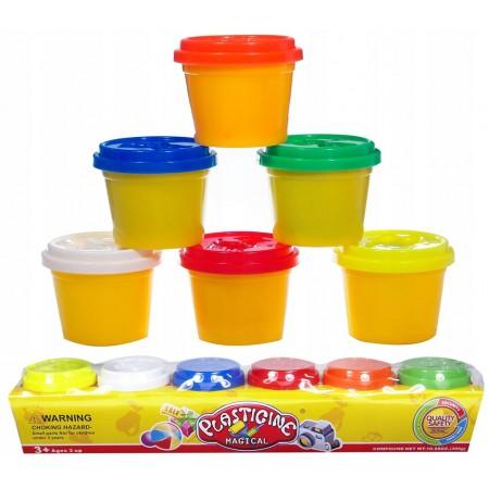 Masa plastyczna 6 kolorów
