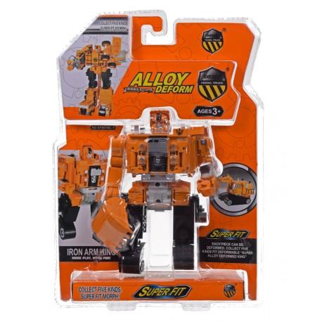 Robot koparka metal