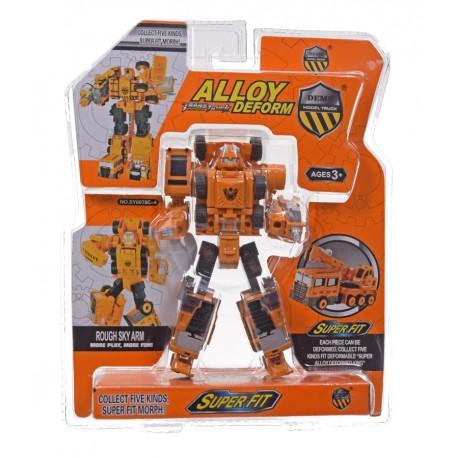 Robot dźwig metal
