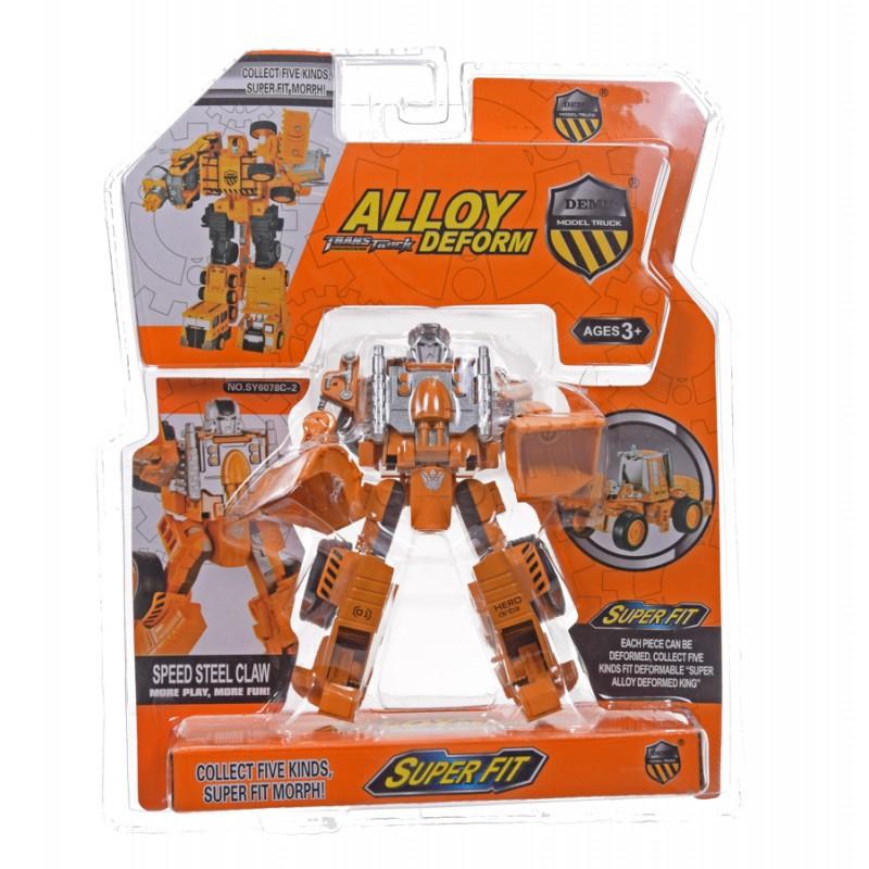 Robot spychacz metal